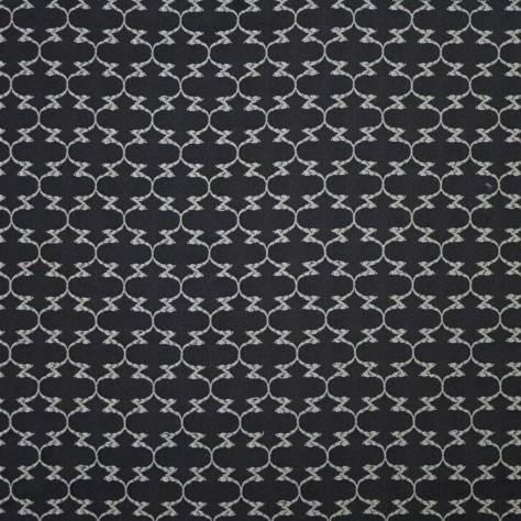 Ashley Wilde Denali Fabrics Lacee Fabric - Noir - LACEENOIR