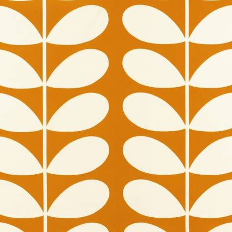 Ashley Wilde Orla Kiely Prints Vol I Fabrics Giant Stem Fabric - Orange - GIANTSTEMORANGE