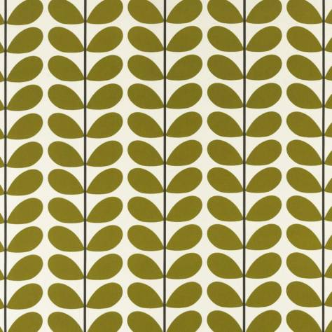 Ashley Wilde Orla Kiely Prints Vol I Fabrics Two Colour Stem Fabric - Olive - TWOCOLOURSTEMOLIVE