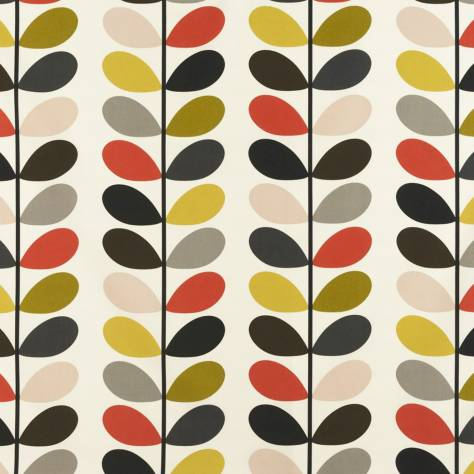 Ashley Wilde Orla Kiely Prints Vol I Fabrics Multi Stem Fabric Tomato - MULTISTEM/Tomato