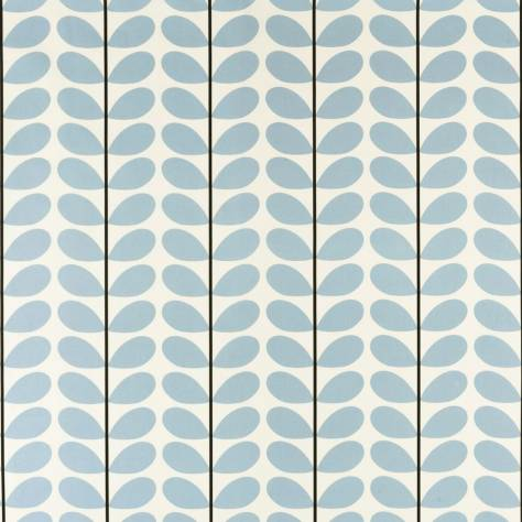 Ashley Wilde Orla Kiely Prints Vol I Fabrics Two Colour Stem Fabric Powder Blue - TWOCOLOURSTEM/PowderBlue