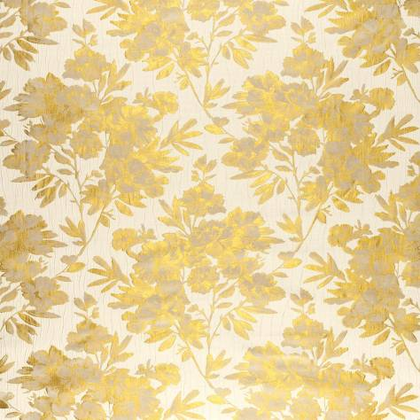 Ashley Wilde Elstow Fabrics Pernilla Fabric - Gold - PERNILLA/Gold