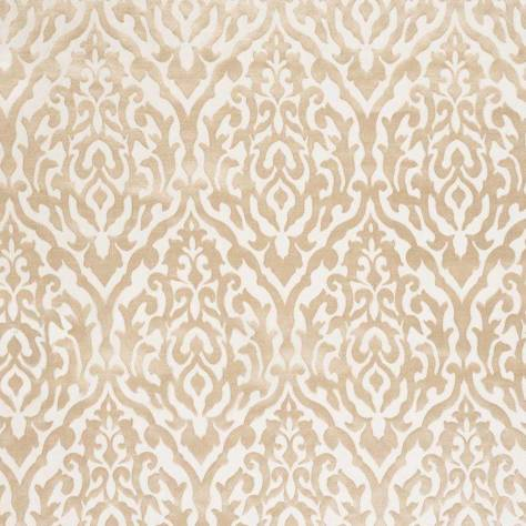 Ashley Wilde Harris Fabrics Dahlia Fabric - Champagne - DAHLIACHAMPAGNE