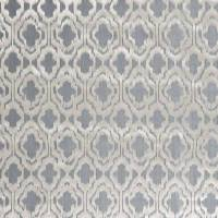 Heligan Fabric - Silver