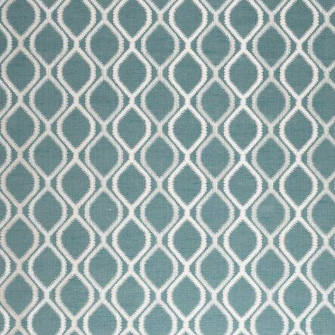 Ashley Wilde Fawsley Fabrics Knoll Fabric - Teal - KNOLLTEAL