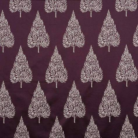 Ashley Wilde Lamont Fabrics Asta Fabric - Berry - ASTABERRY