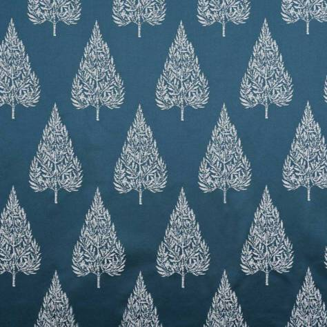 Ashley Wilde Lamont Fabrics Asta Fabric - Navy - ASTANAVY
