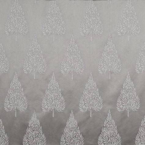 Ashley Wilde Lamont Fabrics Asta Fabric - Silver - ASTASILVER