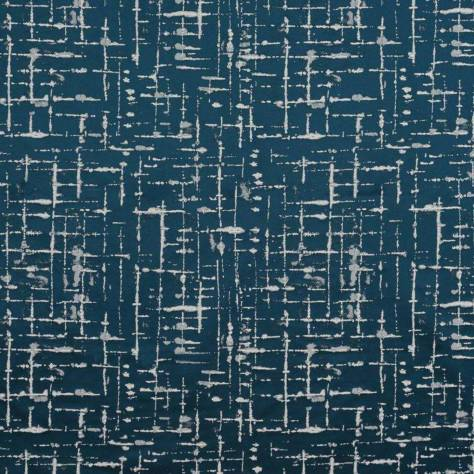Ashley Wilde Lamont Fabrics Mikkel Fabric - Navy - MIKKELNAVY