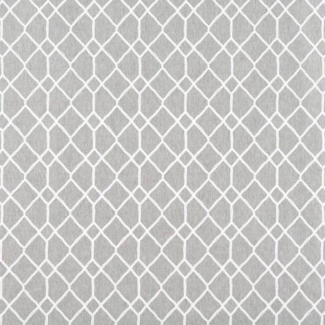 Ashley Wilde Lamont Fabrics Vidar Fabric - Silver - VIDARSILVER