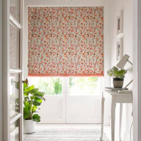 Ashley Wilde Hampstead Fabrics Cranmore Fabric - Coral - CRANMORECORAL