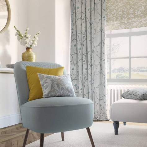 Ashley Wilde Pembroke Fabrics Mayfield Fabric - Spa - MAYFIELDSPA