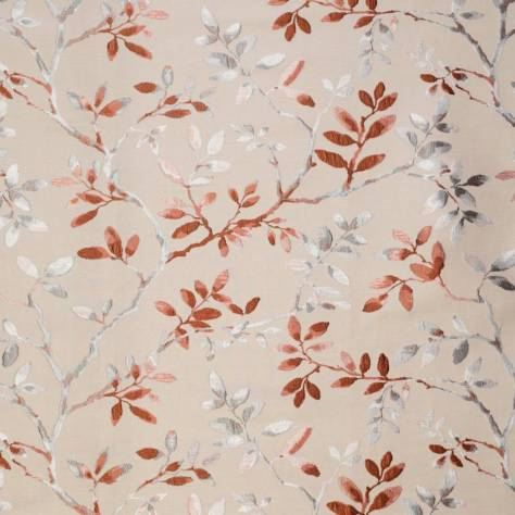 Ashley Wilde Buscot Fabrics Berridge Fabric - Rust - BERRIDGERUST