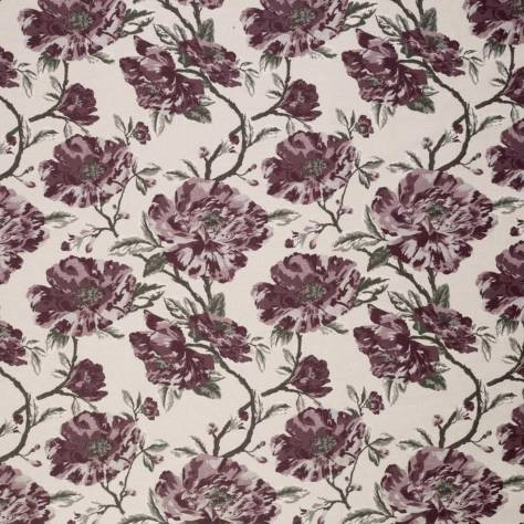 Ashley Wilde Buscot Fabrics Gervald Fabric - Mulberry - GERVALDMULBERRY