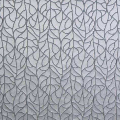 Ashley Wilde Bowden Fabrics Cass Fabric - Silver - CASSSILVER