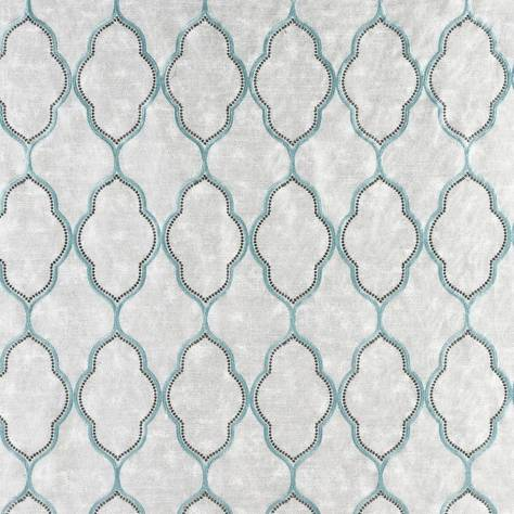 Ashley Wilde Ashton Fabrics Adara Fabric - Aqua - ADARAAQUA