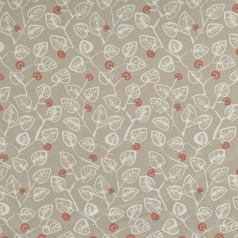 Ashley Wilde Meraki Fabrics Elva Fabric - Coral - ELVACORAL - Image 1