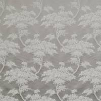 Japonica Fabric - Silver