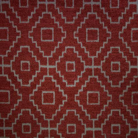 Ashley Wilde Kenza Fabrics Kenza Fabric - Cranberry - KENZACRANBERRY