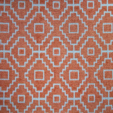 Ashley Wilde Kenza Fabrics Kenza Fabric - Nectarine - KENZANECTARINE