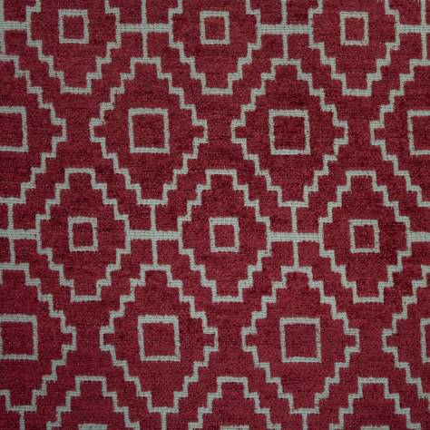 Ashley Wilde Kenza Fabrics Kenza Fabric - Raspberry - KENZARASPBERRY