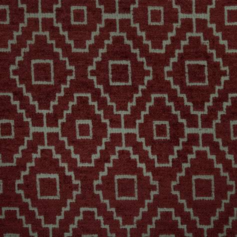 Ashley Wilde Kenza Fabrics Kenza Fabric - Wine - KENZAWINE