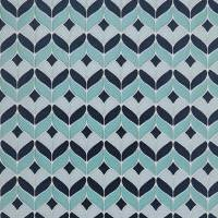 Illion Fabric - Aqua