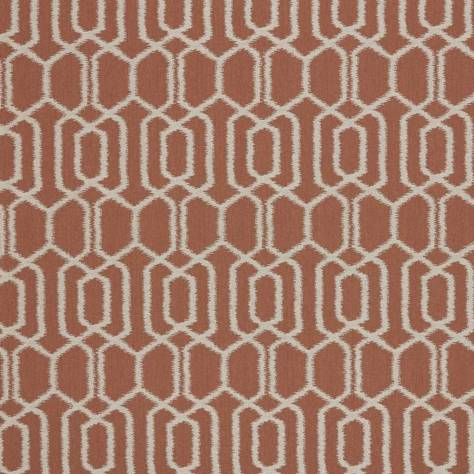 Ashley Wilde Tivoli Fabrics Hemlock Fabric - Terracotta - HEMLOCKTERRACOTTA