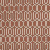 Hemlock Fabric - Terracotta
