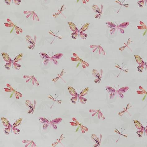 Ashley Wilde New Forest Fabrics Marlowe Fabric - Fuchsia - MARLOWEFUCHSIA