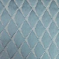 Argyle Fabric - Sky