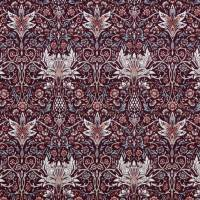 Avington Fabric - Claret