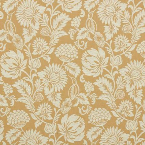Ashley Wilde Roseberry Manor Fabrics Danbury Fabric - Ochre - DANBURYOCHRE