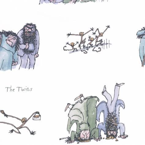 The Twits Fabric Twits Twits Ashley Wilde Roald Dahl