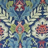 Kelmscott Fabric - Thistle Blue