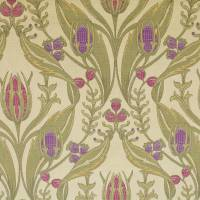 Merton Fabric - Mulberry