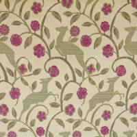 Daino Fabric - Mulberry
