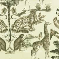 Whipsnade Fabric - Sepia