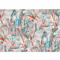 Atlantis Fabric - Coral