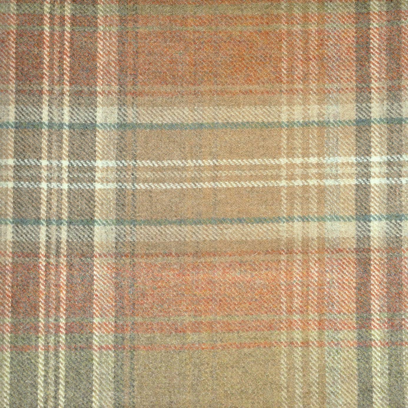 Balmoral Fabric Fired Earth N1004 Chess Highland