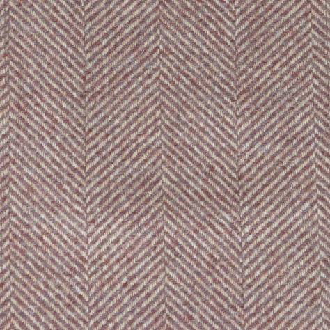 Braemar Fabric Cassis N1049 Chess Highland Wool