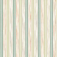 Stripey Stripe Fabric - Orchard