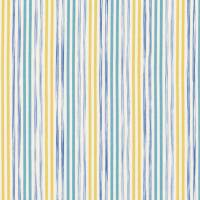Stripey Stripe Fabric - Seaside