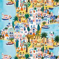 Island Hopping Fabric