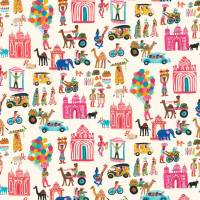 Hustle Bustle Fabric