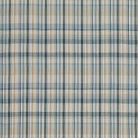 Rubra Check Fabric - Fjord