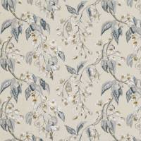 Wisteria Embroidery Fabric - Cumin