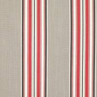 Burford Fabric - Red Tulip