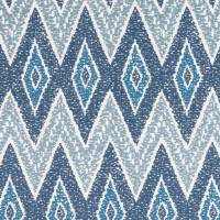Sarouk Fabric - Buxton Blue