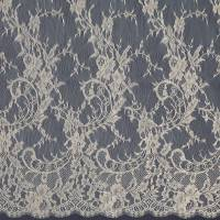 French Lace Fabric - Gold